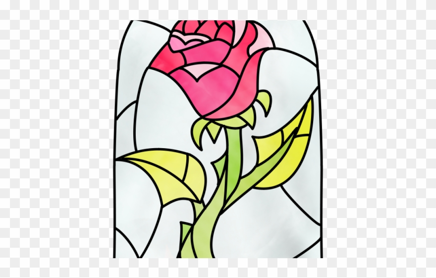 Rose Clipart Beauty And The Beast.