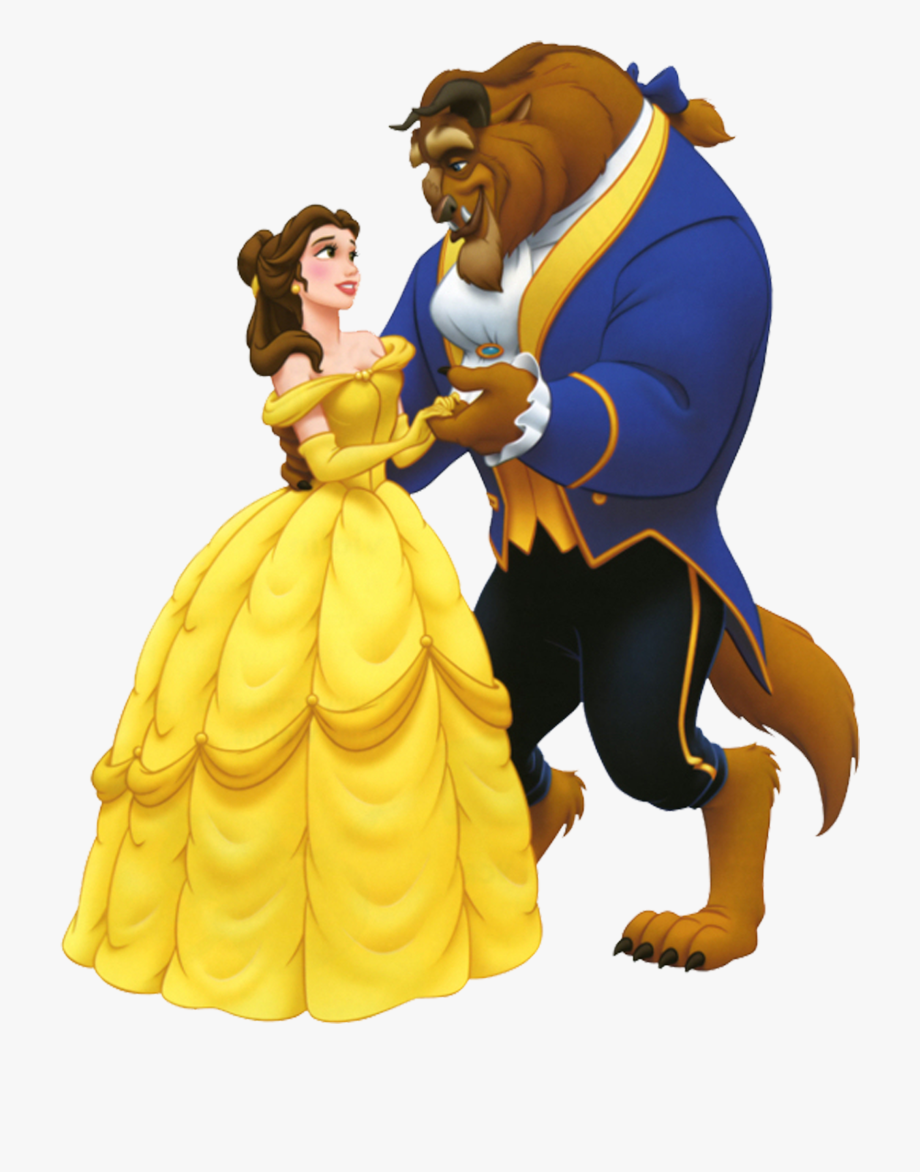 Beauty And The Beast Png, Cliparts & Cartoons.