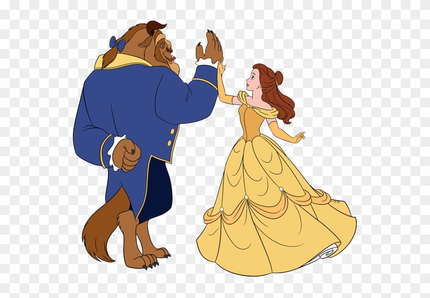 Belle And The Beast Clip Art.