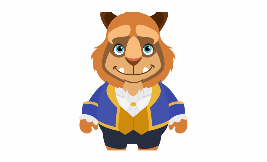 Chibi Clipart Beauty And The Beast.