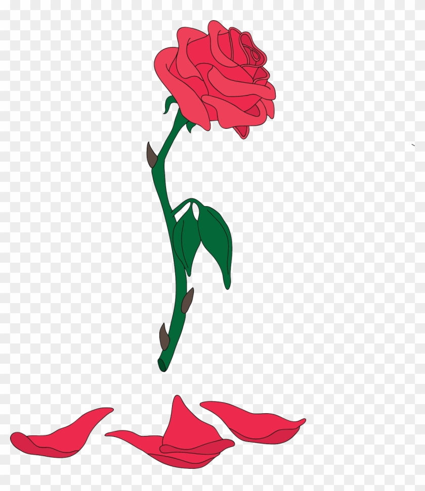 Clipart Rose Beauty And The Beast.