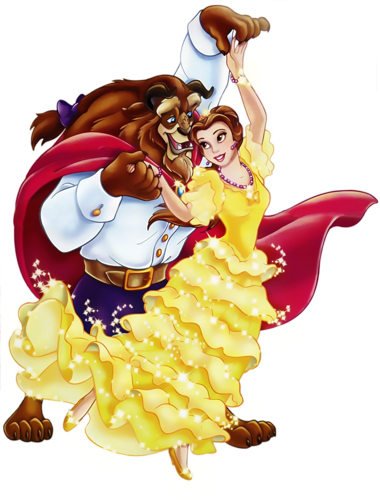 Beauty and the Beast PNG Picture Clipart.