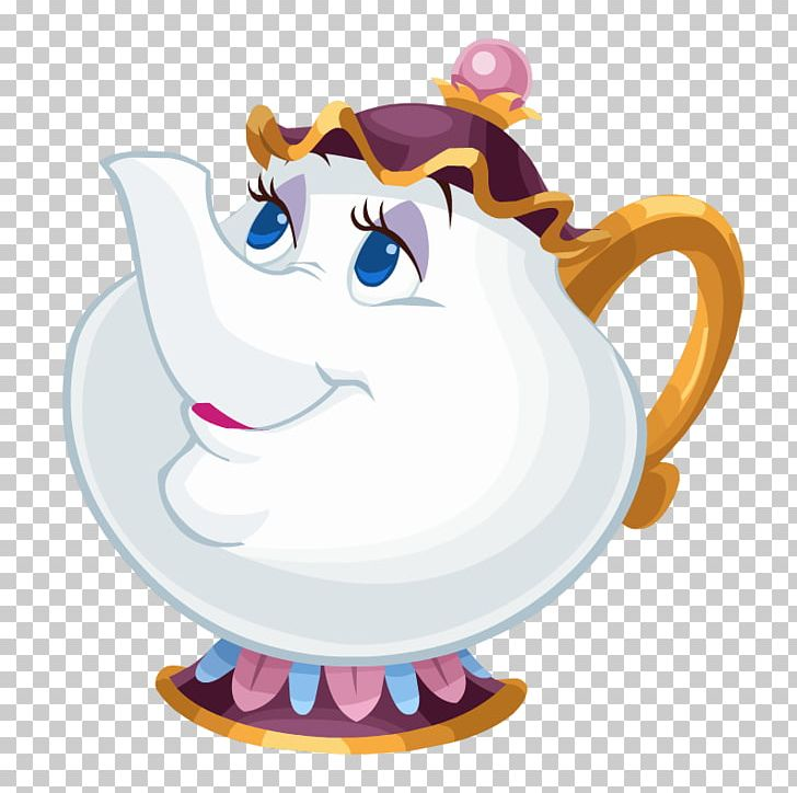Beast Belle Mrs. Potts Character PNG, Clipart, Beast, Beauty And The.