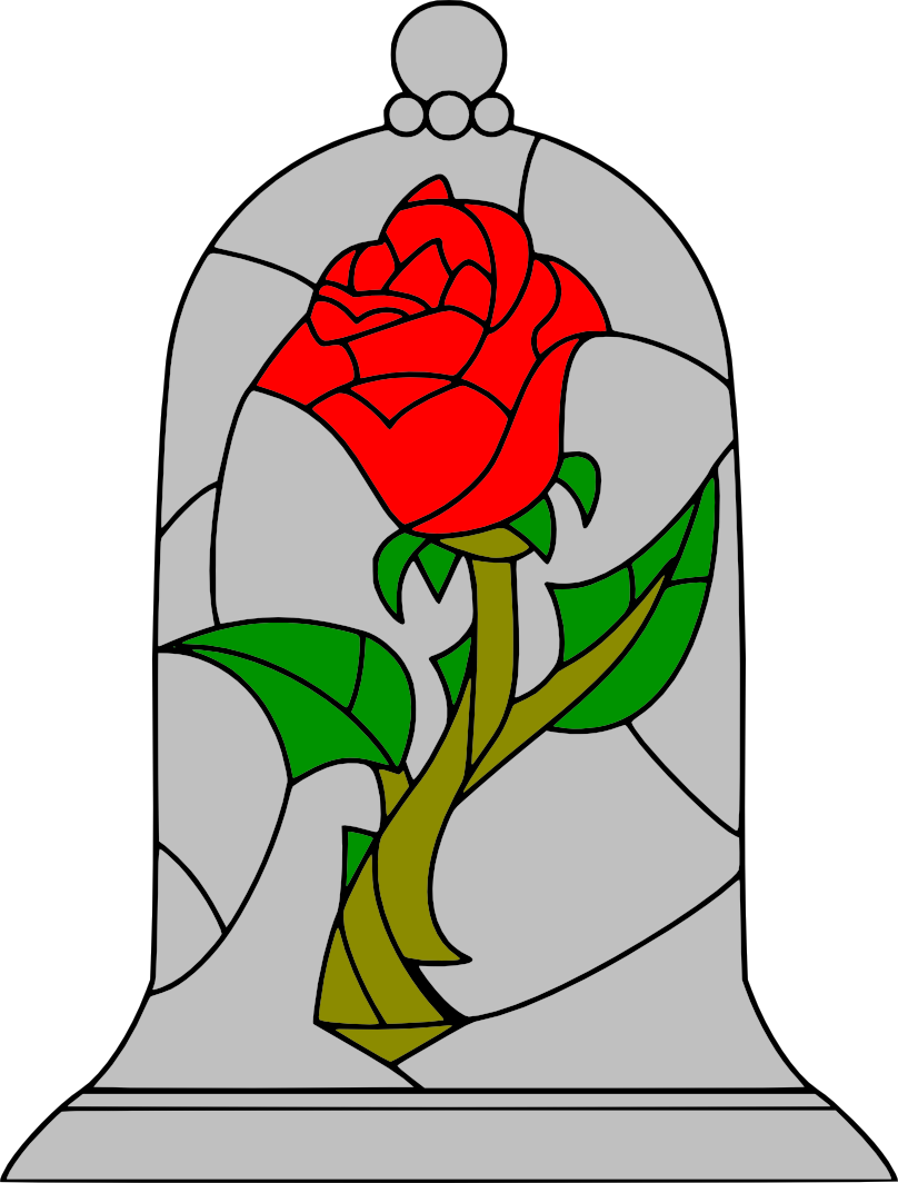 Movies, Personal Use, Beauty And The Beast Rose,.