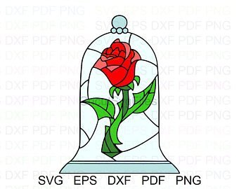 Beauty and the beast rose clipart 2 » Clipart Portal.