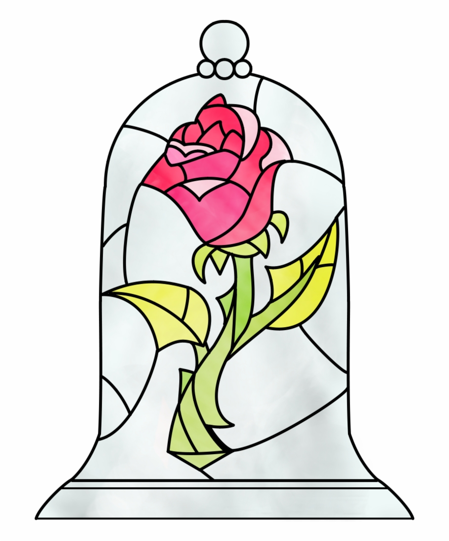 Beauty And The Beast Rose By Dosiguales.