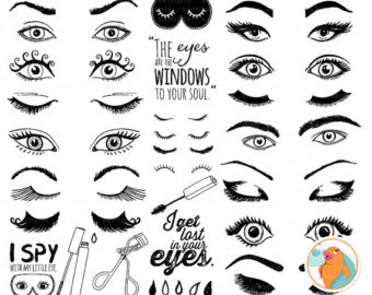 Beauty Eye Clipart.