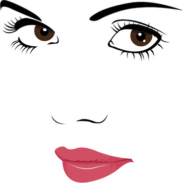 Girl face clipart free vector download (8,317 Free vector.