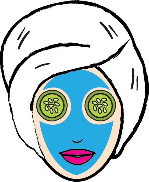 Cosmetology Clipart Beauty Icon Face Mask Clipart Png.