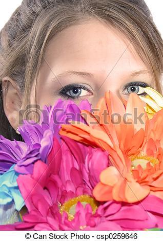 Stock Image of Hidden beauty.
