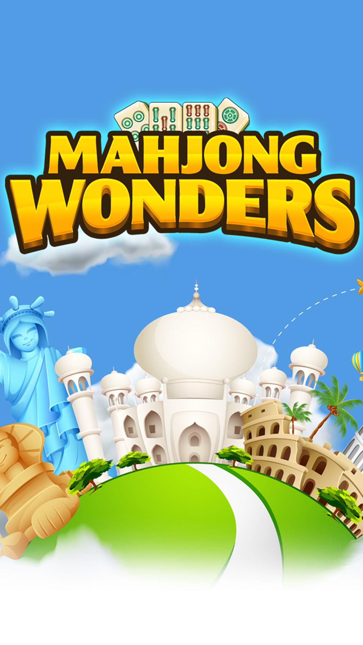 Mahjong Hidden Wonders.