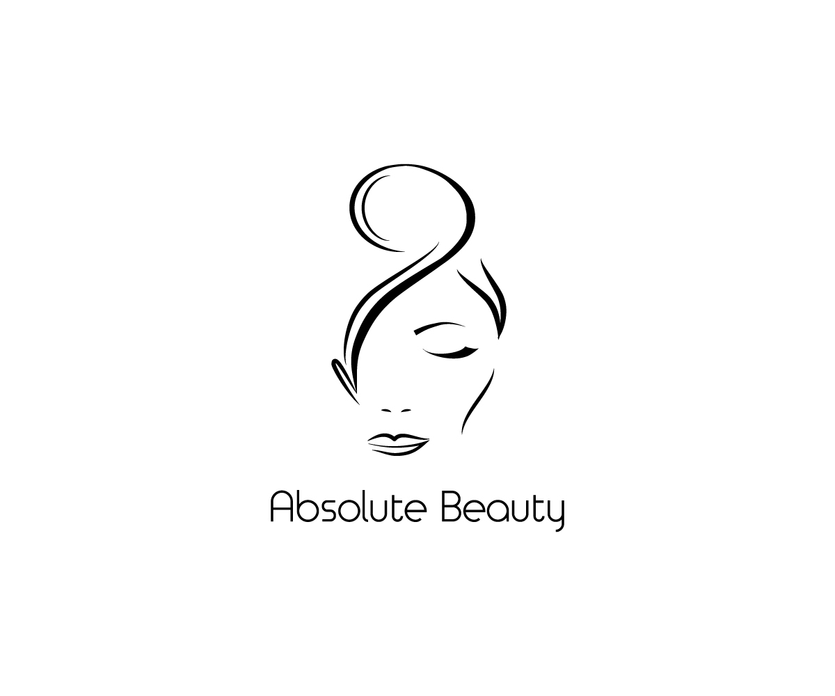 Modern, Professional, Salon Logo Design for Absolute Beauty.