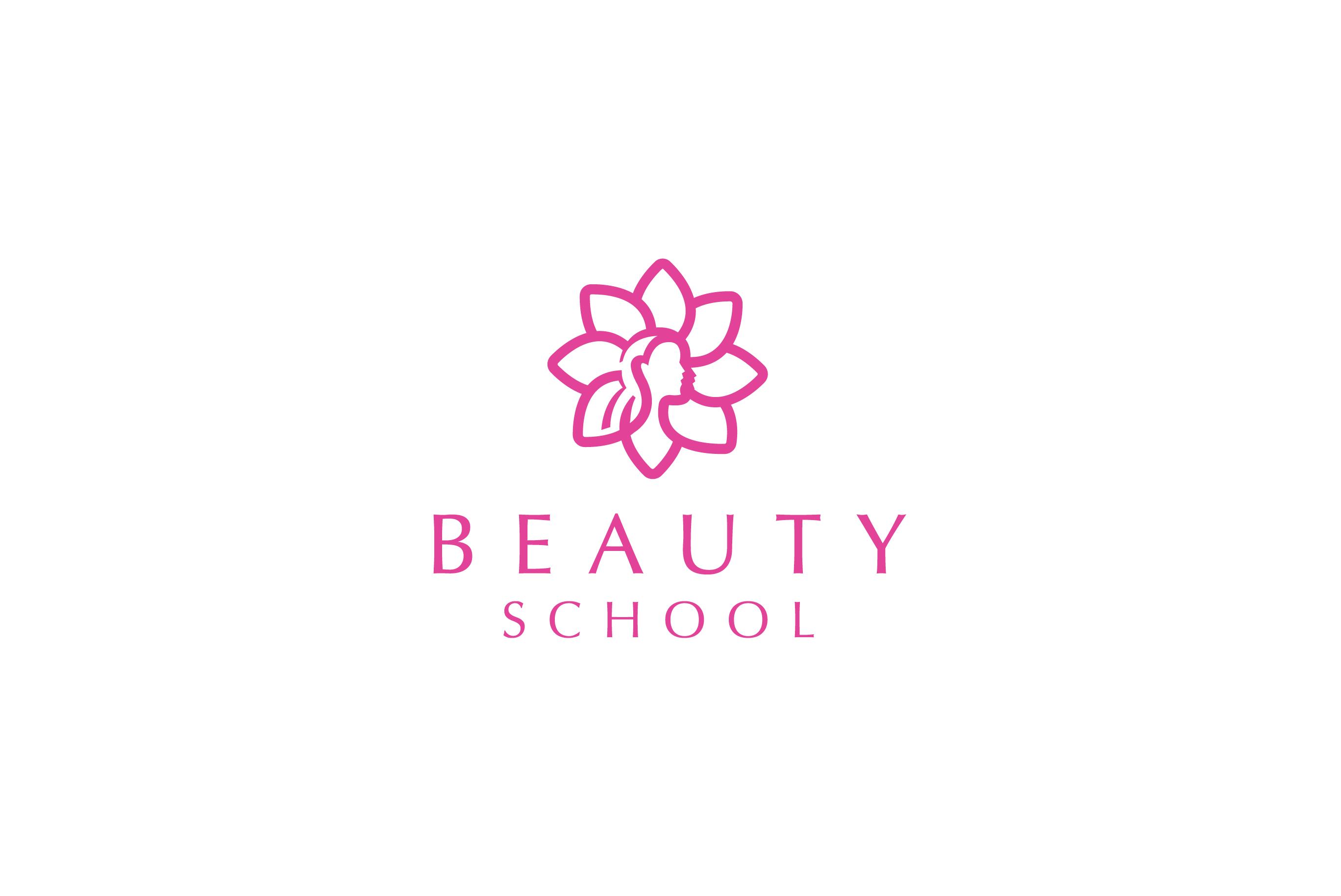 SOLD: Beauty School logo.
