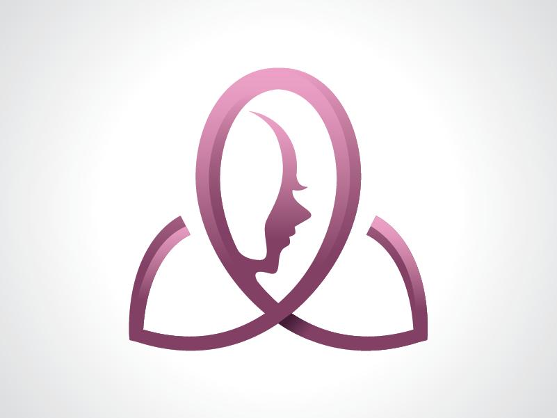 Girl Beauty Logo Template by Heavtryq on Dribbble.