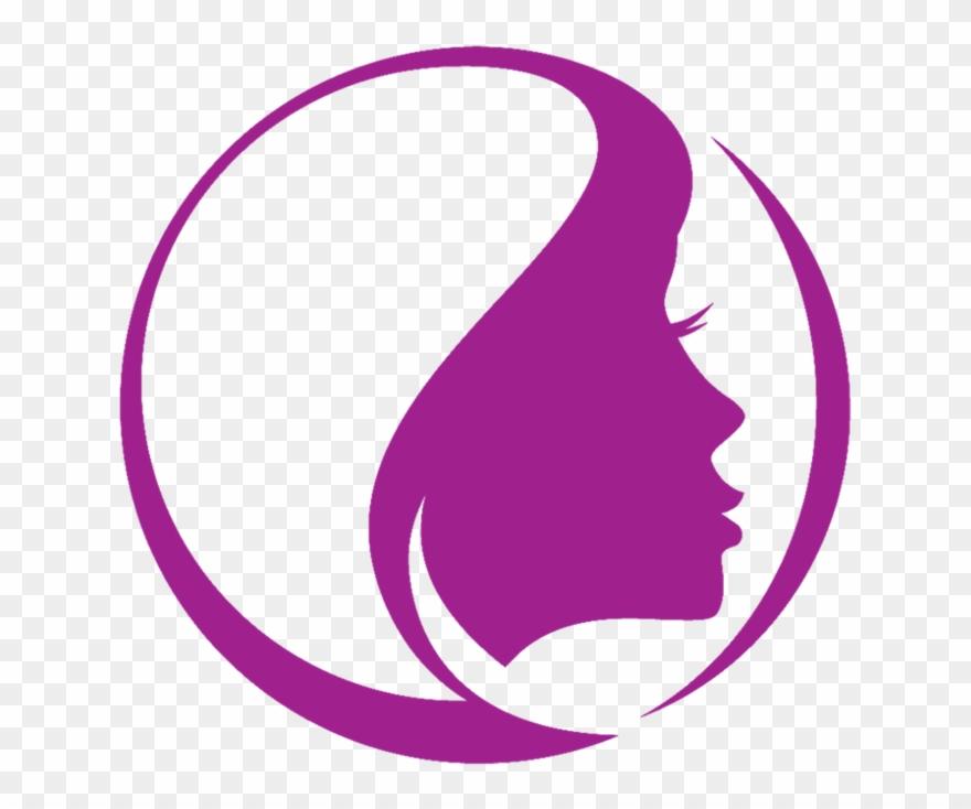 Hairdresser Vector Purple Hair.