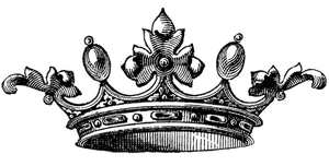 Beauty Pageant Crowns Clipart.