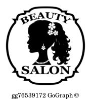 Beauty Salon Clip Art.