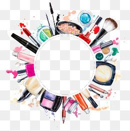 Creative Makeup Tools, Makeup Clipart, Tools Clipart, Beauty PNG.