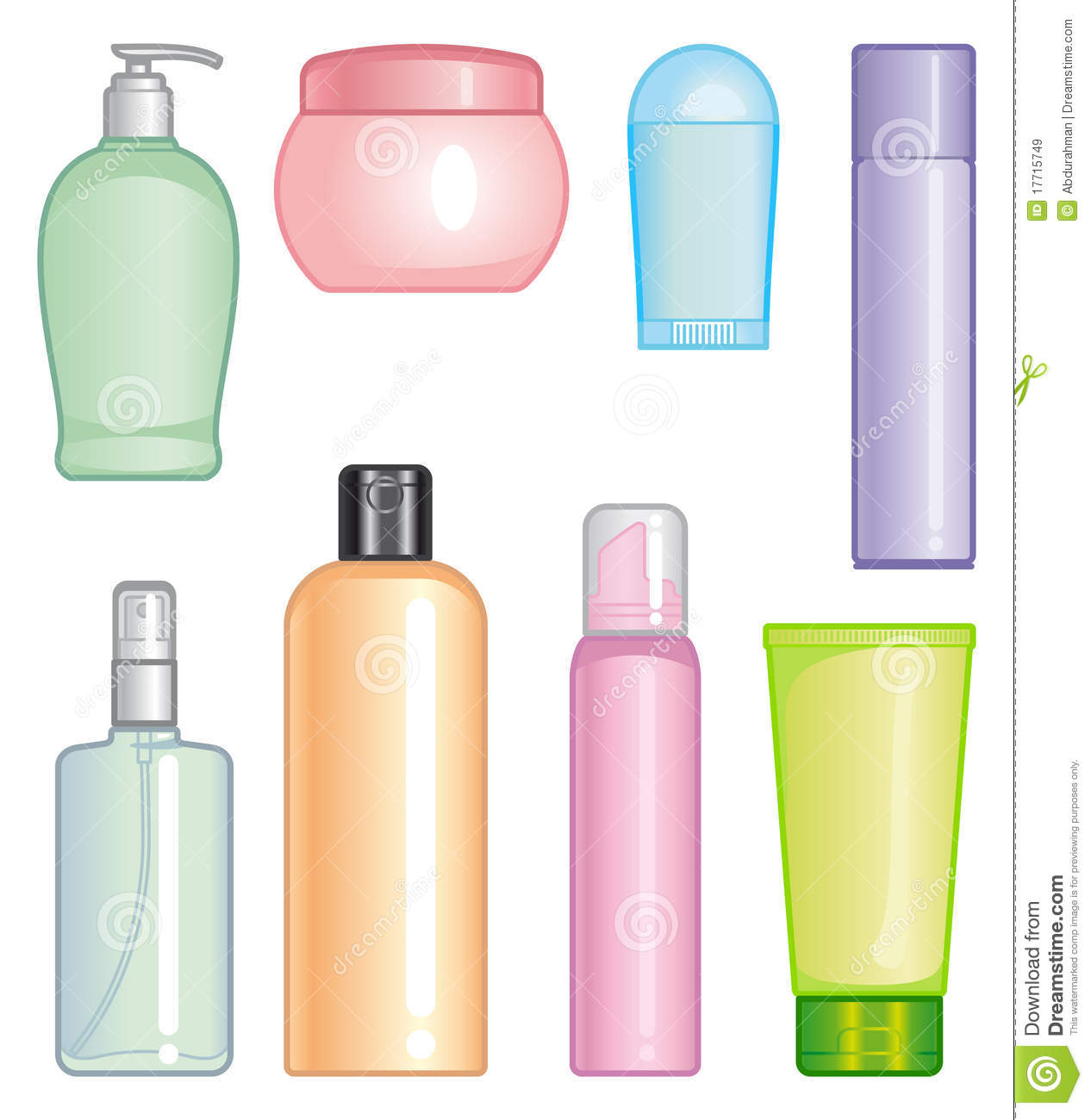 Beauty Products Clipart Clipground