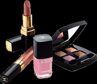 Makeup Kit Products PNG Transparent Images.