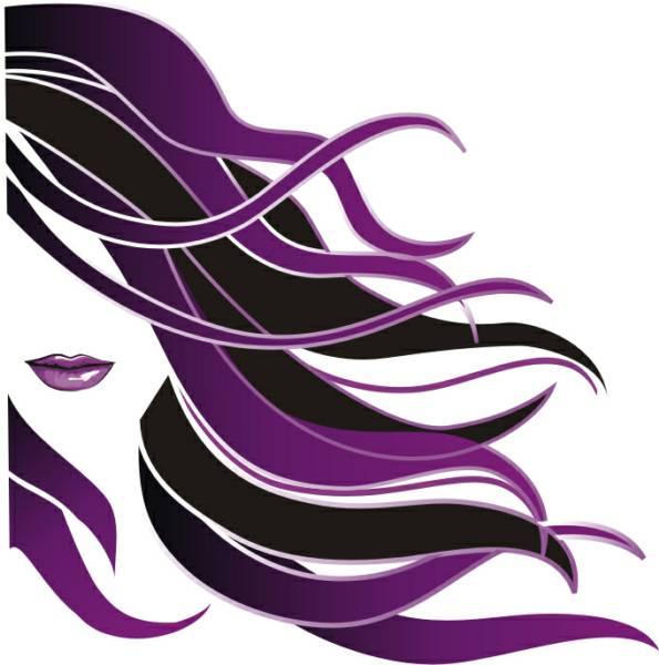 Beauty Hair Salon Clipart.