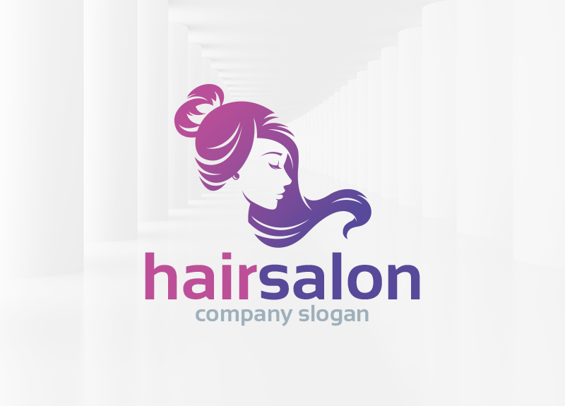 Hair salon Logos.
