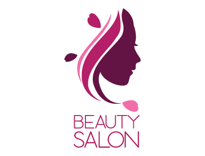 Beauty Salon Logo VectorFree.