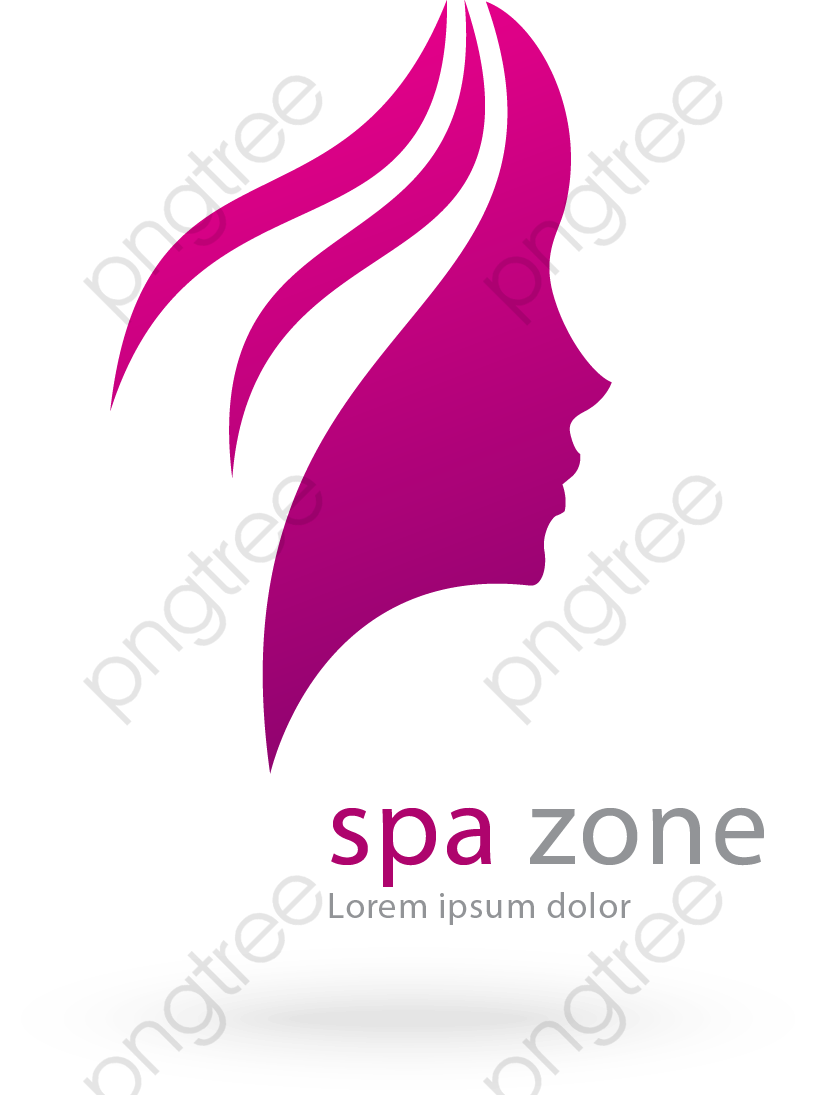 Head Of A Woman Vector Symbol Beauty Salons, Head Vector, Woman.