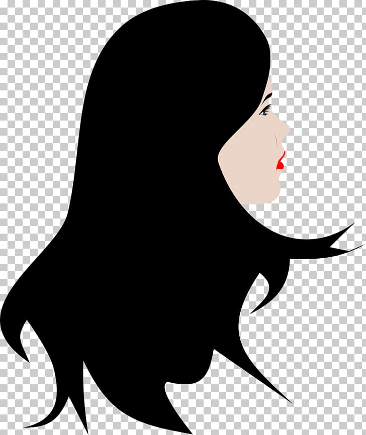 Long hair Black hair , Beauty School s PNG clipart.