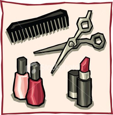 Beauty care clipart.