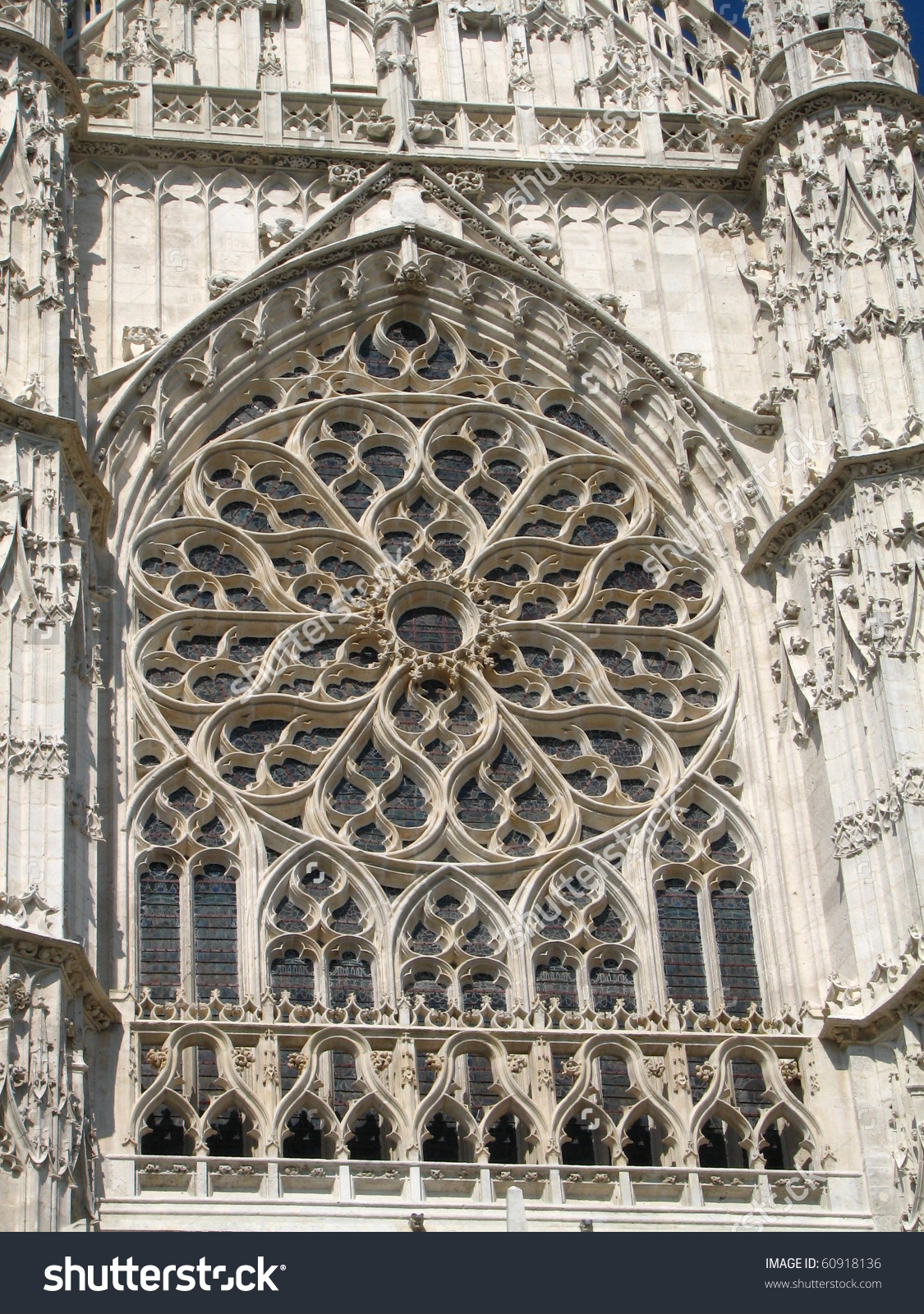Detail Beauvais France Cathedral Stock Photo 60918136.