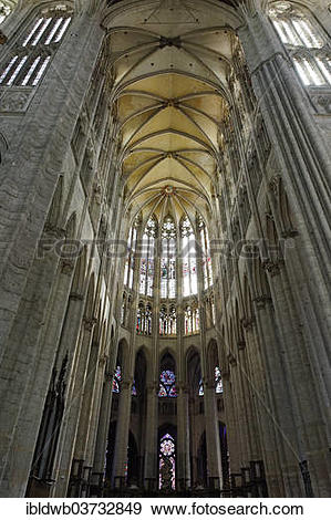 "Stock Photograph of ""Saint Pierre Cathedral, Beauvais, Departement."