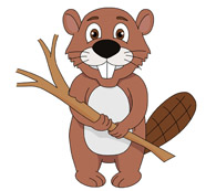 Free Beaver Clipart.