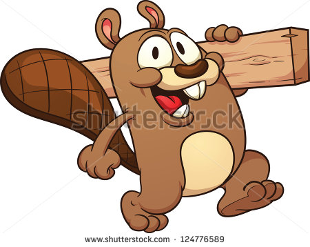 Beaver Cartoon Stock Images, Royalty.