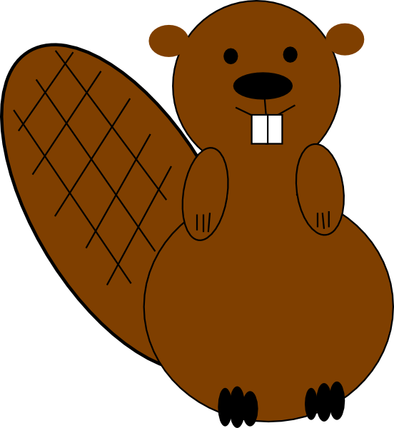 Beaver Clip Art At Clker Com Vector Online Royalty Free Comfortable.