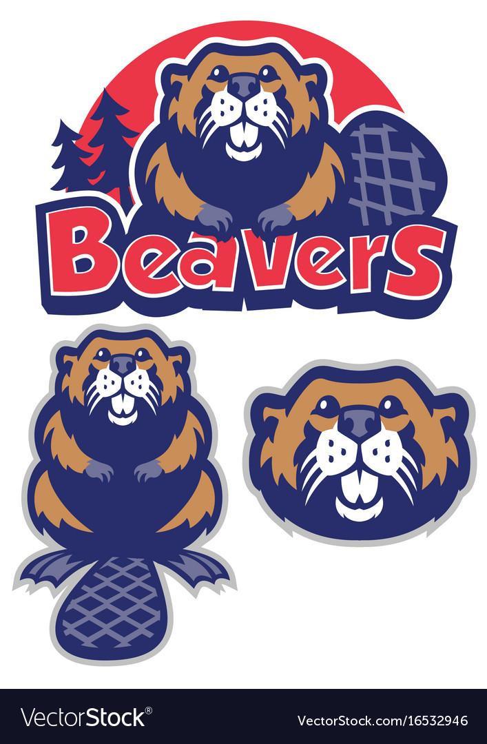 Beaver mascot.