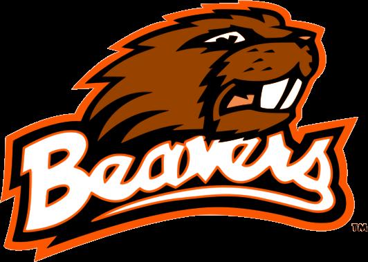 Beaver Mascot Cliparts.