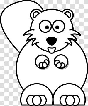 North American beaver Cartoon Drawing , Cartoon Beaver.