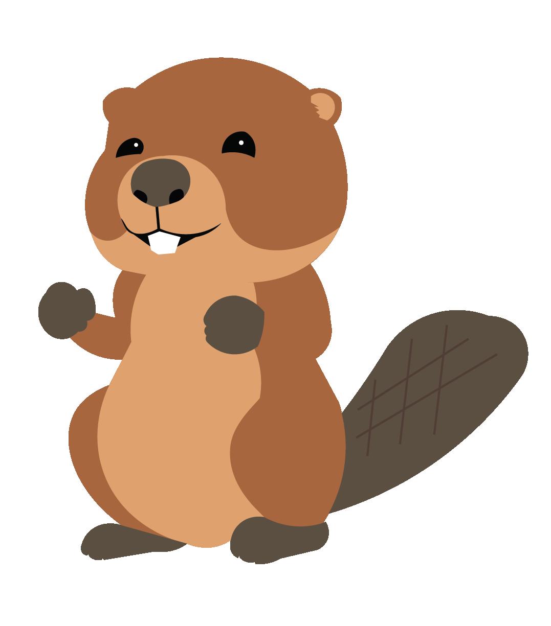 Beaver PNG Photo.