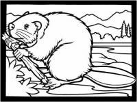 Free Beavers Clipart.