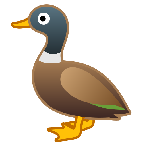 Bebek Ikon Gratis dari Noto Emoji Animals Nature Icons.