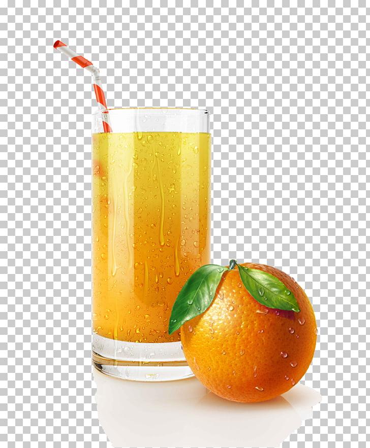 Cóctel de jugo de naranja bebida de naranja pajita, jugo de.