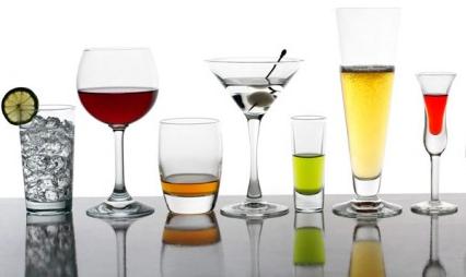 Clasificación de las bebidas alcohólicas.