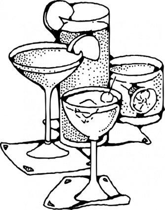 Imágenes clip art y gráficos vectoriales Bebidas gratuitos.