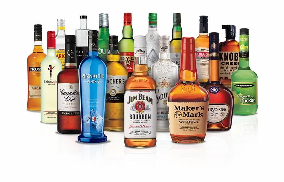 Bebidas Alcoólicas Png.