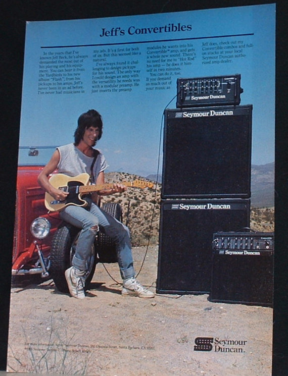 Jeff Beck Clipart.