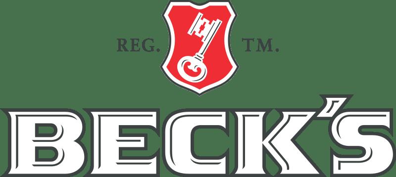 Beck's Logo transparent PNG.