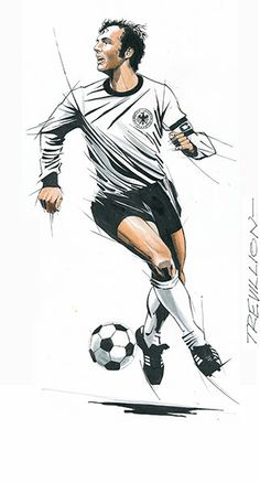 Ruud Gullit by James McDaid.