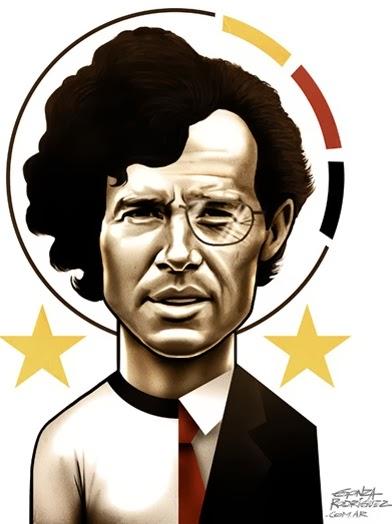 Franz Beckenbauer 1974.