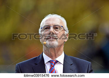 "Stock Images of ""Honorary president of Bayern Munich Franz."